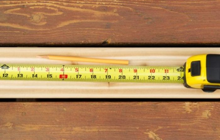 Рулетка поможет измерять все.