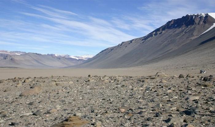 Интересный факт о Земле: сухие долины Мак-Мердо.