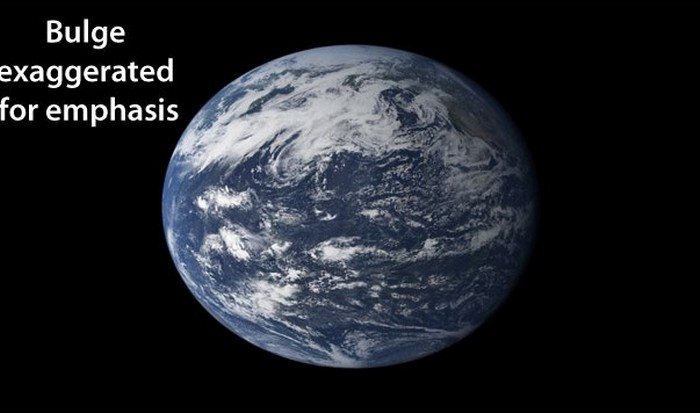 Интересный факт о Земле: планета-геоид.
