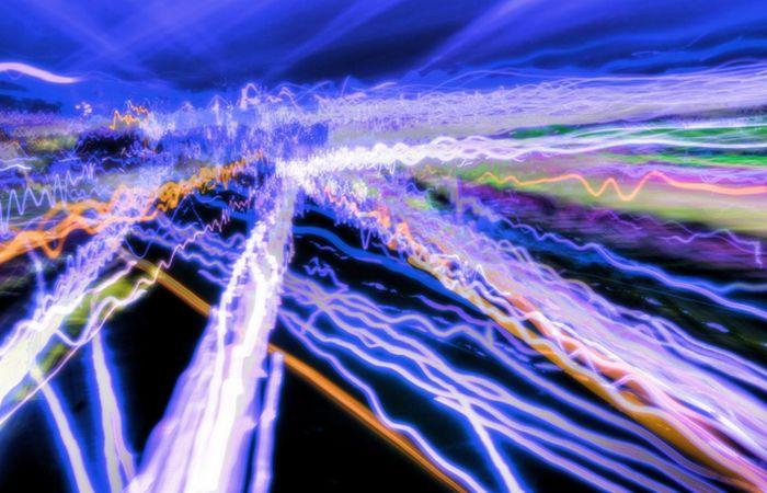 Скорость света в космосе.