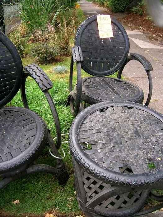 Садовая мебель.