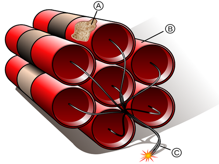 Поиск путей стабилизации высоколетучего жидкого нитроглицерина.