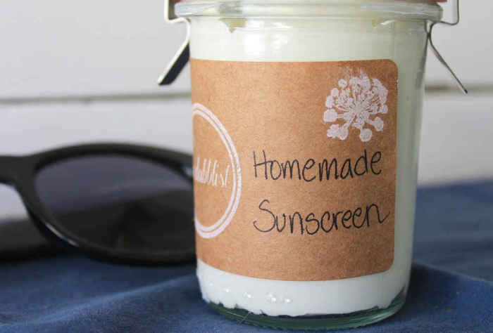 Сделать природный солнцезащитный крем.