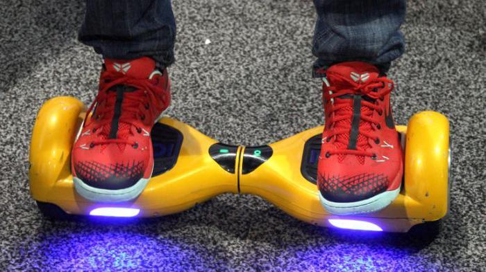 IO Hawk - скейтборд-сегвей для развлечения и поездок по городу.