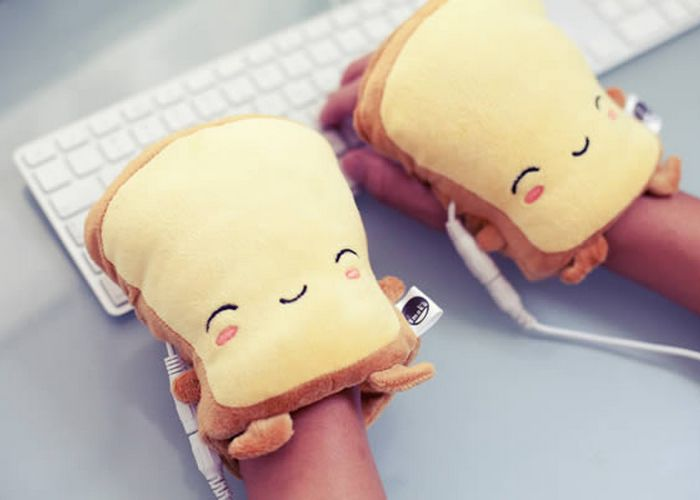 Так теплее: USB-грелки для рук «Smoko Toast».