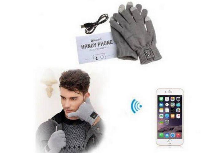 Так теплее: вluetooth перчатка-гарнитура.