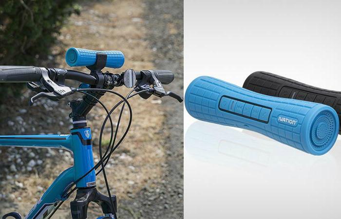 Ivation BOOMER - аудиосистема для велосипеда.