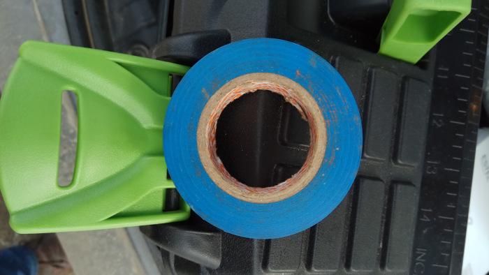 Только синяя - только хардкор.  Фото: drive2.ru.