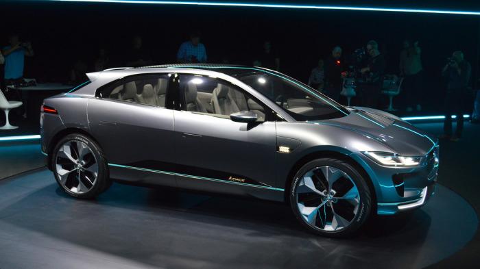 Jaguar I-Pace Concept: на одной зарядке — 350 км.