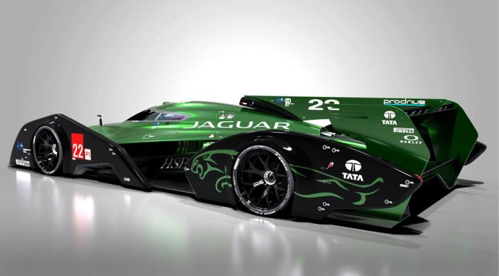 Jaguar XJR-19 LMP1: новые технологии материалов.