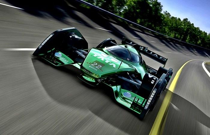 Юбилейный концепт гоночного болида Jaguar.
