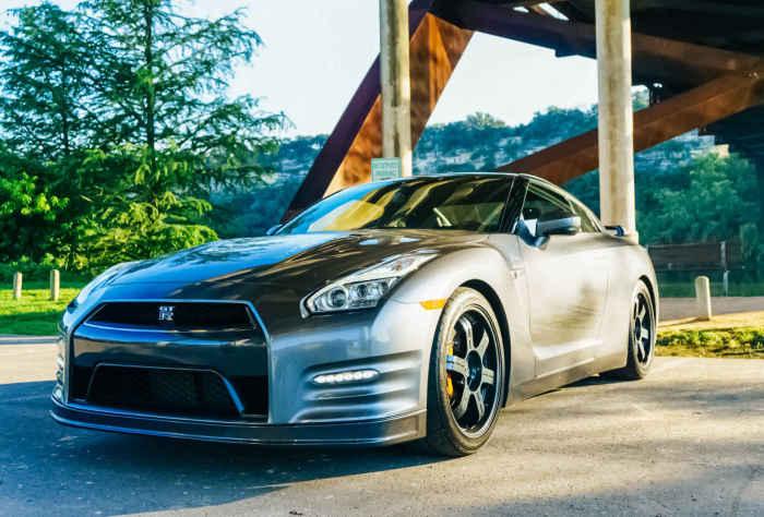 Nissan GT-R - одно из последних достижений японского автопрома