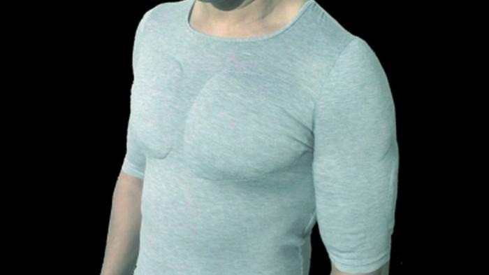 Майка Muscle Shirt которая сделает из тебя мужика.
