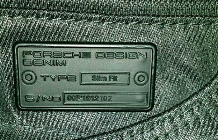 Джинсы «Porsche».