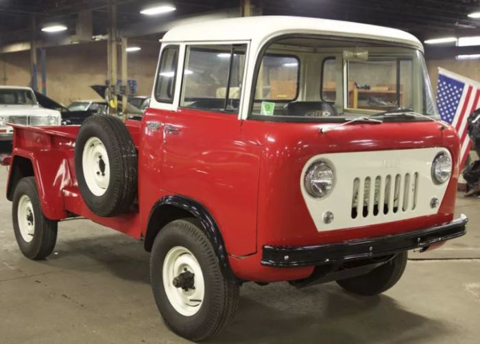 Еще одна ограниченная модель в лице Jeep Forward Control (FC).