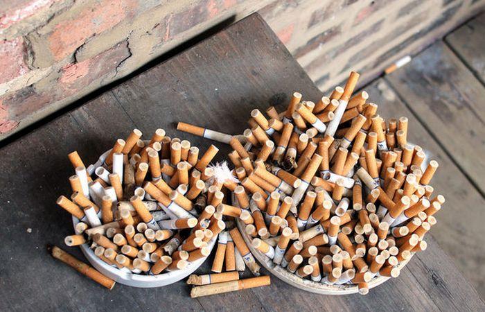 Жизненный совет: запах сигарет.