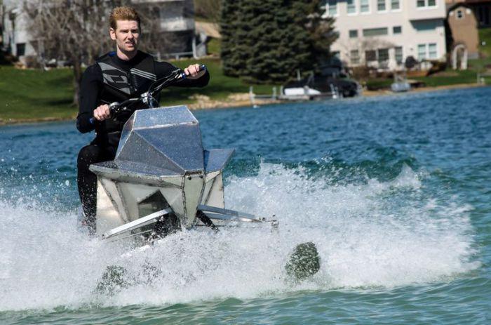 Jet Blade - гидроцикл нового поколения.