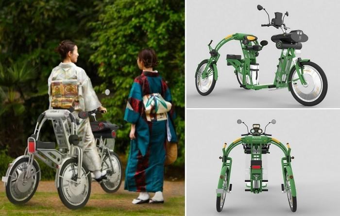 Грузовой электрический велосипед Johanson3.