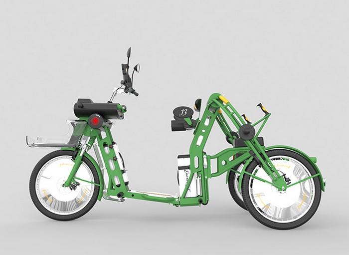 Johanson3 - идеальное городское транспортное средство.