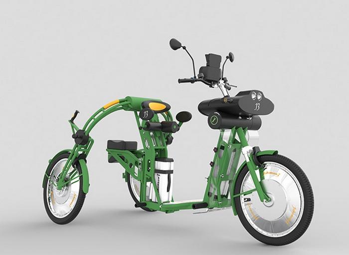 Байк Johanson3 - экономичное и экологично транспортное средство.