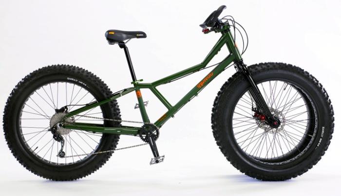 Суперпроходимый велосипед Juggernaut.