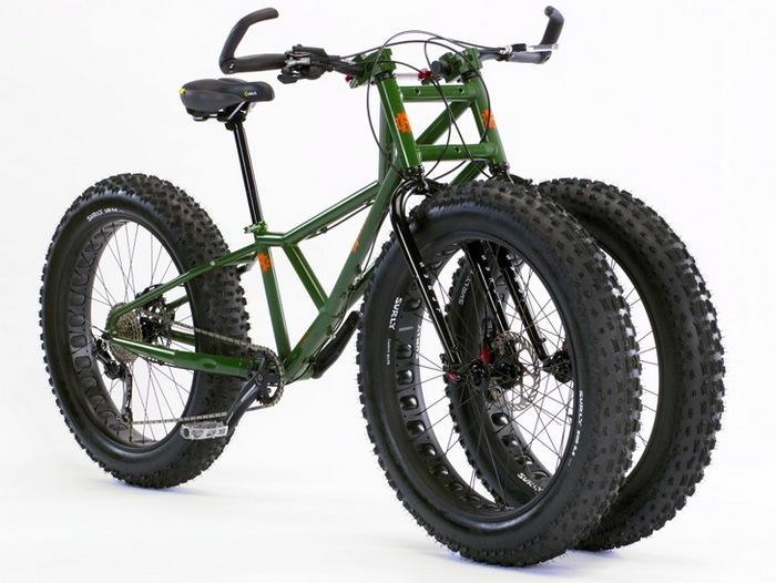 Трёхколёсный велосипед Juggernaut от компании Rungu.
