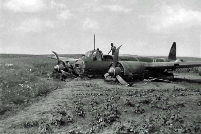 Много Юнкерсов было сбито.