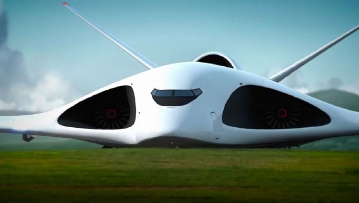 Концепт военно-транспортного самолёта.