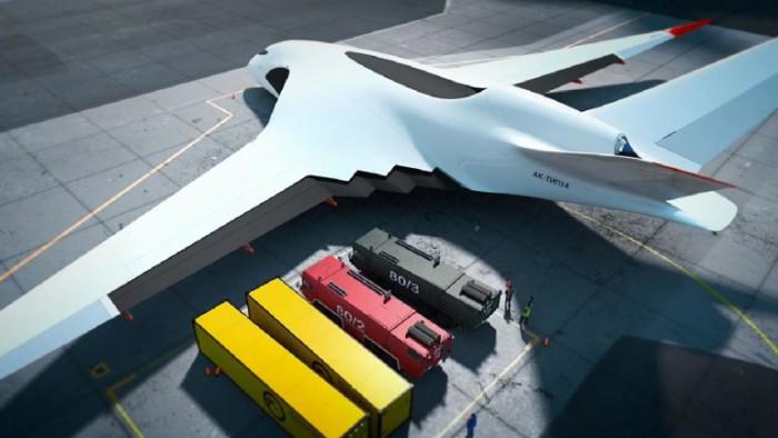 Концепция предусматривает грузоподъемность 200 тонн.