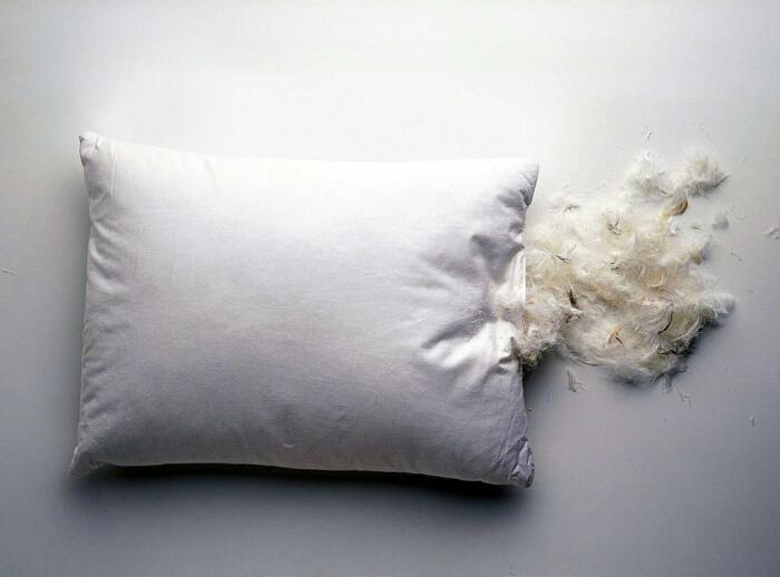 Морозить подушки нужно для уничтожения вредителей в них. |Фото: vampodushka.ru.
