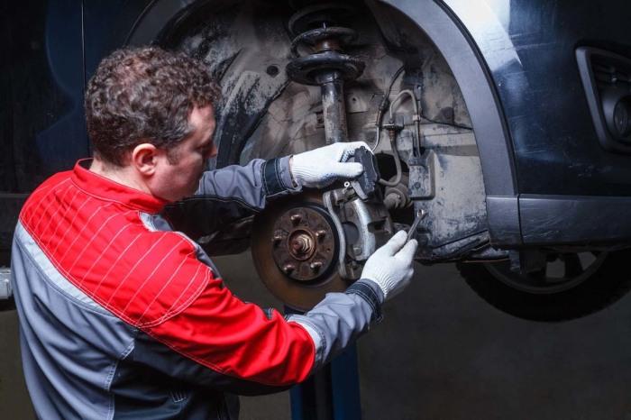 Барабанные тормоза используют в первую очередь на недорогих моделях. |Фото: 4geo.ru.