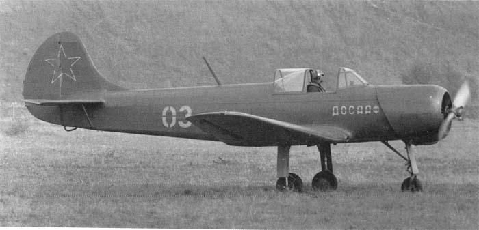 Снимался учебный самолет. |Фото: airwar.ru.