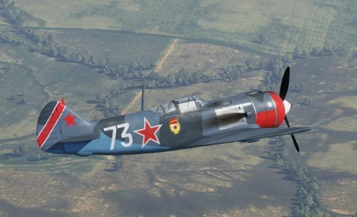 Маскировали под Ла-5. |Фото: yandex.ua.