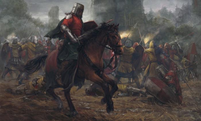 Самих рыцарей чаще всего погибало не много. |Фото: wallhere.com.