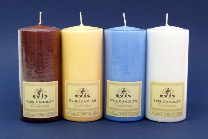 Подойдет любая свеча. |Фото: eviscandles.com.