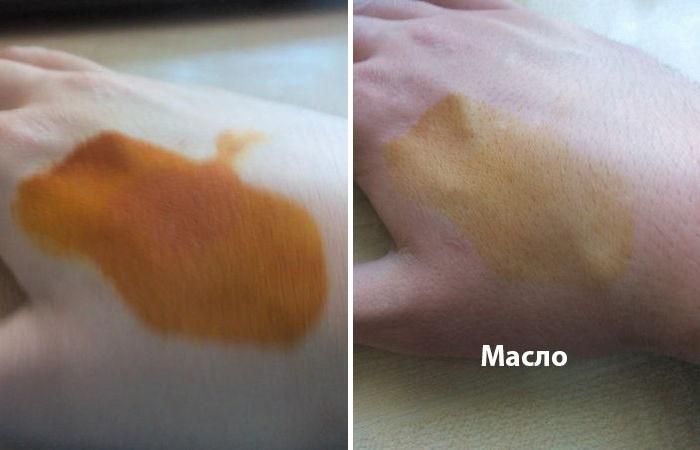 Результаты для растительного масла. ¦Фото: novate.ru.