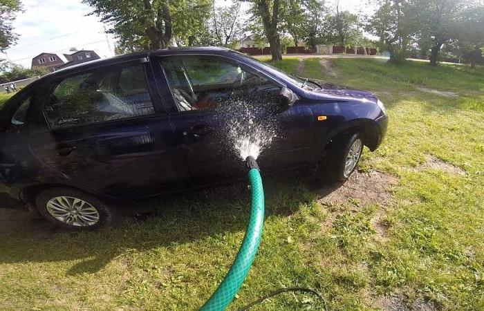 Как помыть авто и не нажить проблем.