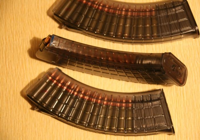 Некоторые используют такие магазины. |Фото: forum.guns.ru.