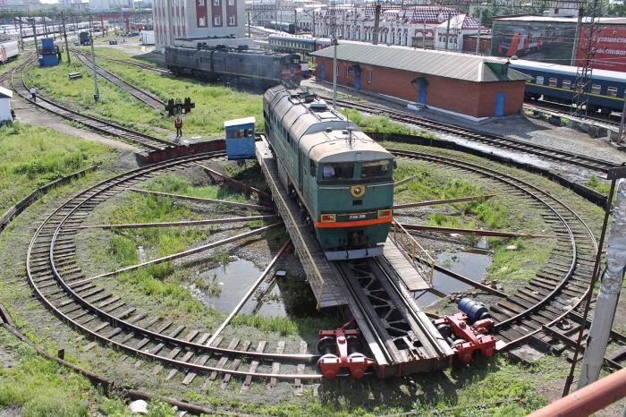 Самый эффектный способ.  Фото: train-photo.ru.