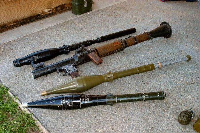 Пехотинцы нуждались в подходящем оружии.