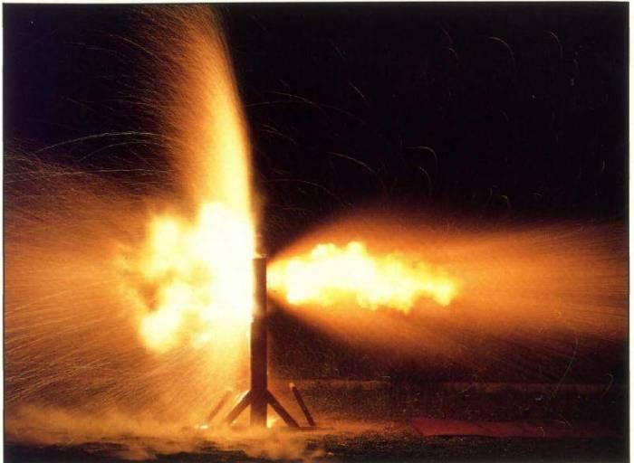 Как выглядит взрыв в момент пробития брони.