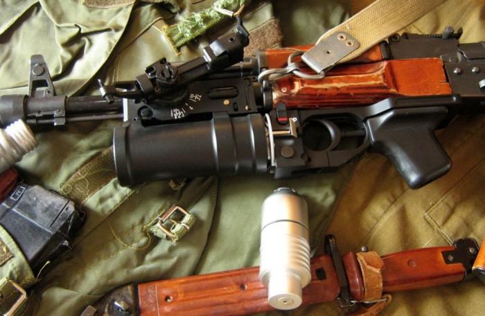 Чаще всего гранатомет ставится на автомат. |Фото: vk.com.