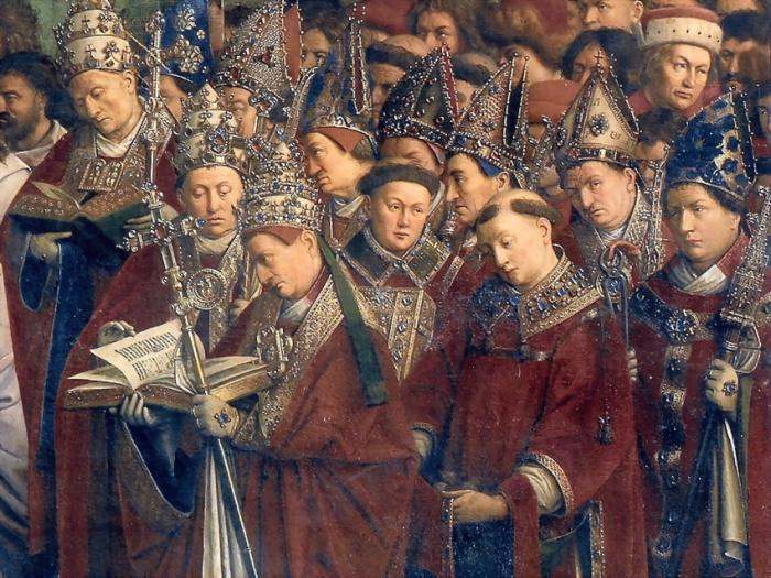 Немалая часть духовенства все еще оставалась воинами в то время. ¦Фото: rightwritings.com.