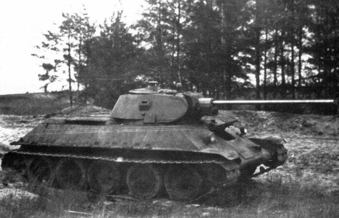 Пушка на момент 1941 года имела ряд недостатков. |Фото: dcinside.com.