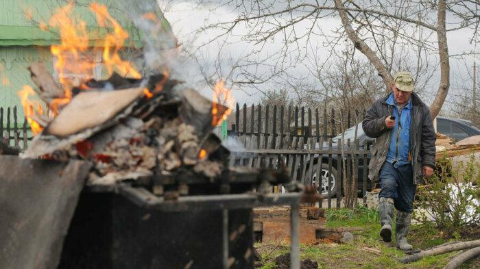 Как изменятся правила разведения костров и сжигания мусора на дачном участке в новом году