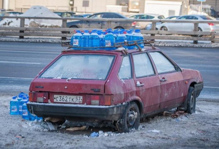 Очень вероятно такая незамерзайка будет поддельной. |Фото: drive2.com.