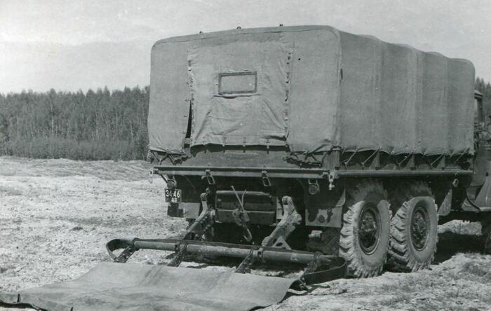 Позади грузовика крепилась вот такая система. ¦Фото: ya.ru.