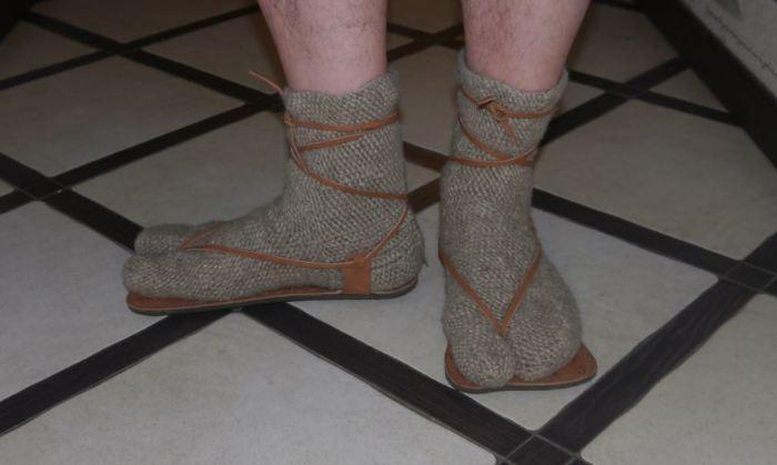 Римляне прекрасно знали носки. |Фото: vk.com.