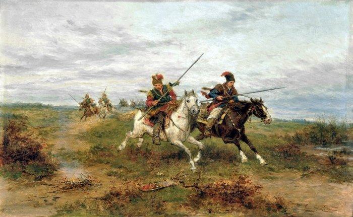 Нишу легкой кавалерии заняли гусары. |Фото: twitter.com.