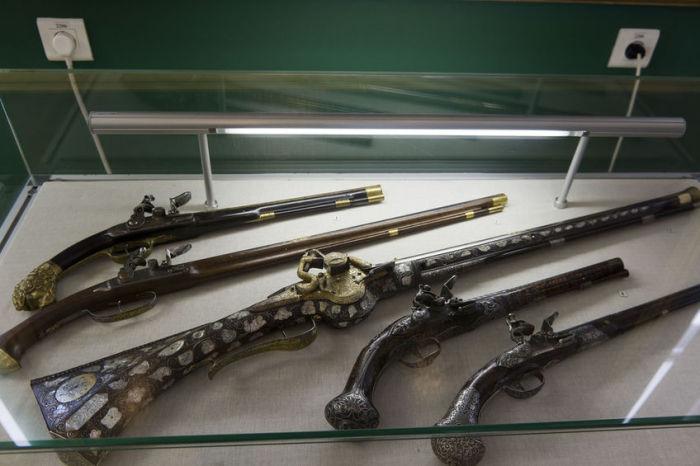 Кавалерийские пистолеты. |Фото: art16.ru.